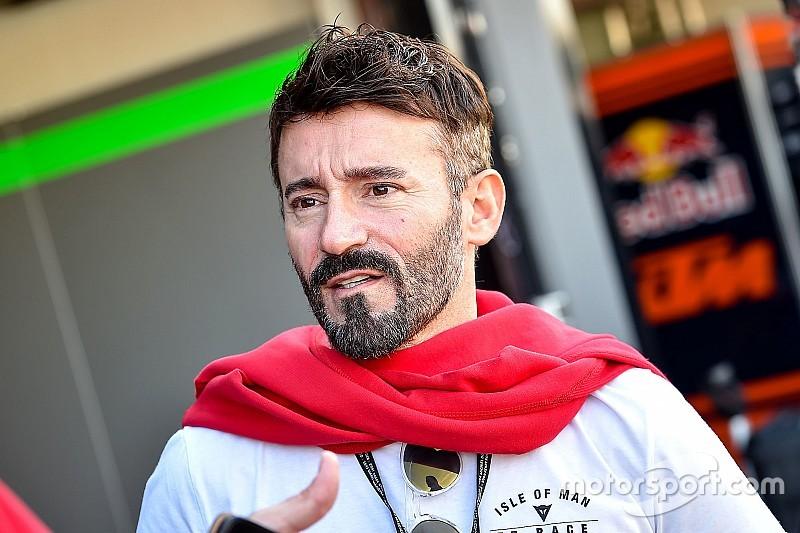 Max Biaggi accidenté lors d'un entraînement de Supermoto