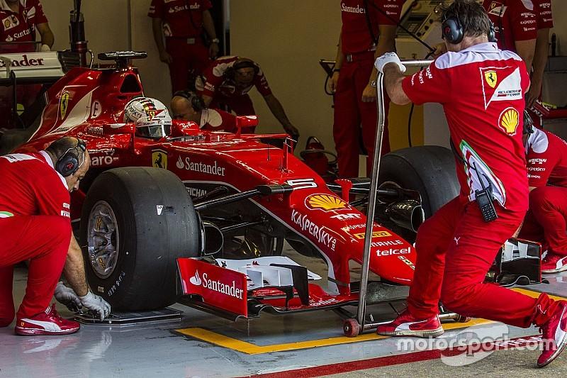 Mercedes: Ferrari ganó ventaja al usar a Vettel en los test de Pirelli
