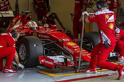 【F1】ベッテルがタイヤテストをしたことが、フェラーリ躍進の原因?