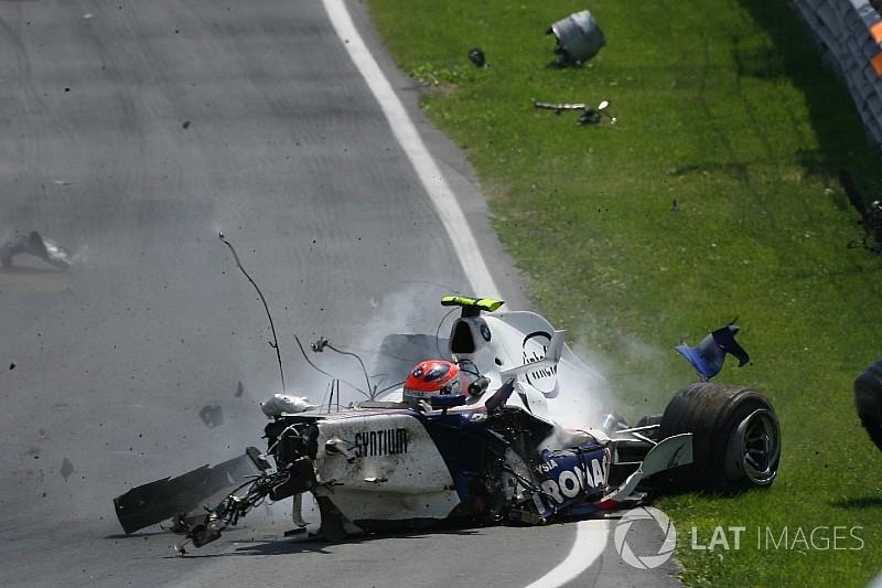 Galería: el impactante accidente de Kubica en Montreal