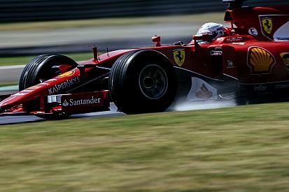 Pirelli: Vettel n'a pas pu tirer profit des tests de 2016