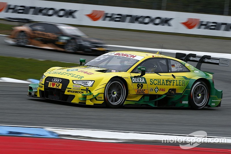 EL1 - Rockenfeller devant, les Mercedes distancées