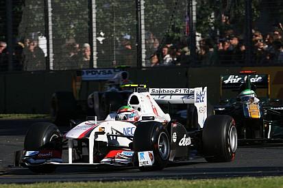 A la venta el primer Fórmula 1 de Sergio Pérez