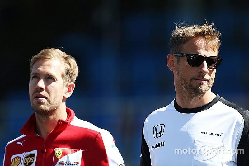 """Button veut que la F1 """"passe à autre chose"""" sur le cas Vettel"""