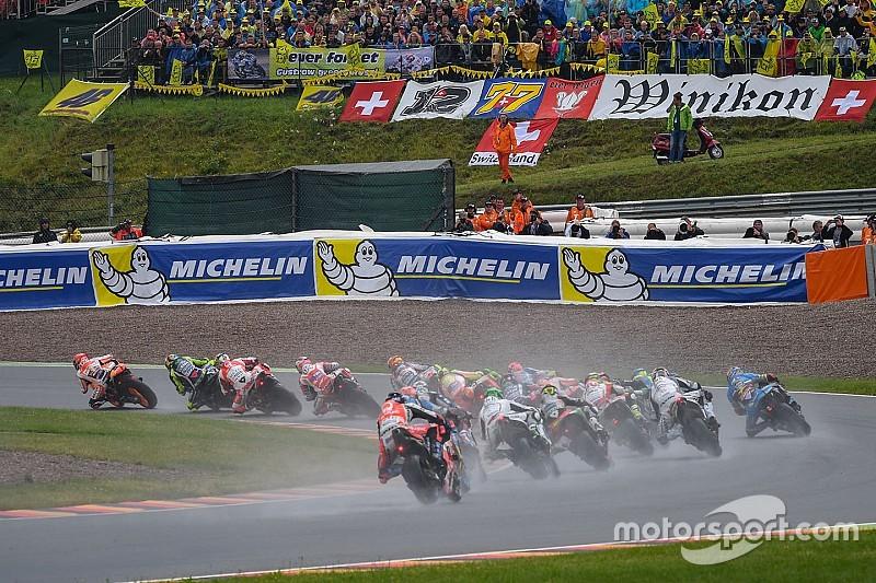 La posible lluvia hace aún más impredecible el GP de Alemania de MotoGP