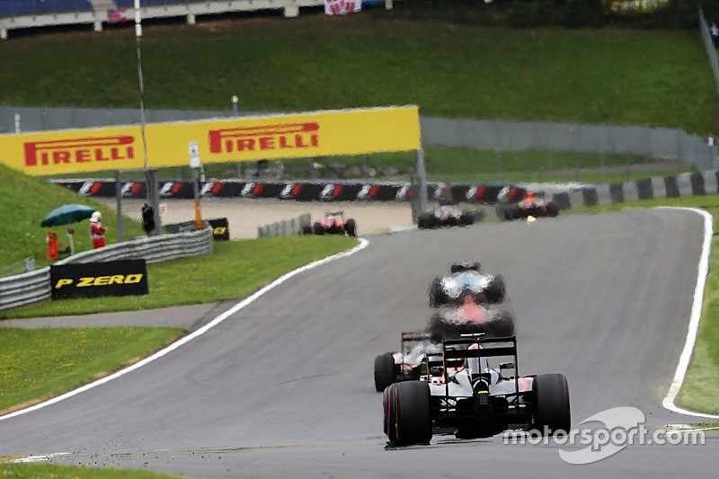 La F1 modifie le nombre de virages du Red Bull Ring