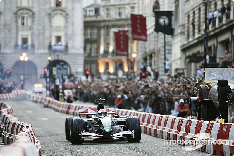 F1 organiseert demo in hartje Londen op woensdagavond