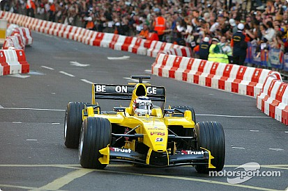 In beeld: De laatste F1-demonstratie in Londen