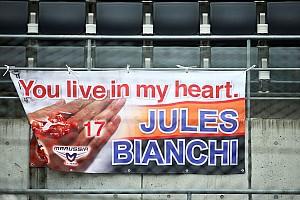 F1 Artículo especial La Fórmula 1 recuerda a Jules Bianchi en el aniversario de su muerte