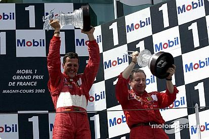 Vor 15 Jahren: Michael Schumacher wird schnellster F1-Weltmeister
