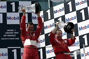 Formel 1 Historie Vor 15 Jahren: Michael Schumacher wird schnellster F1-Weltmeister