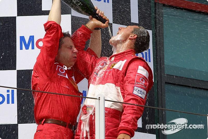 El día que Schumacher ganó el mundial en julio e igualó a Fangio