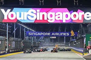 Formel 1 News Stadtkurs in Singapur vor neuem Formel-1-Vertrag