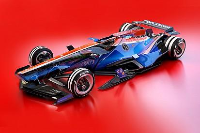 GALERI: Konsep desain mobil F1 2030