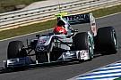 Legendás jelenet: Schumacher a betonfalhoz szorítja Barrichellót a Hungaroringen