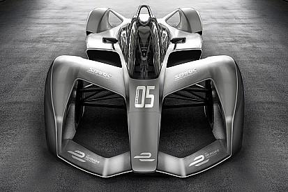 Nieuwe Formule E-bolide mogelijk zonder achtervleugel en met halo