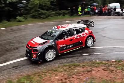 VÍDEO: Loeb volta a pilotar Citroën do Mundial de Rali