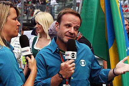 Így sírt Barrichello, miközben a fia vezetett mellette
