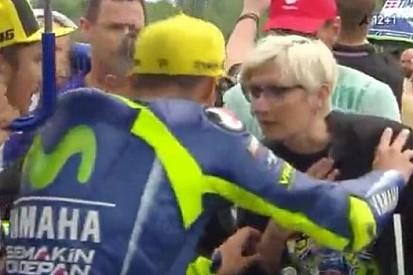 Rossi echó de la parrilla a una ministra checa