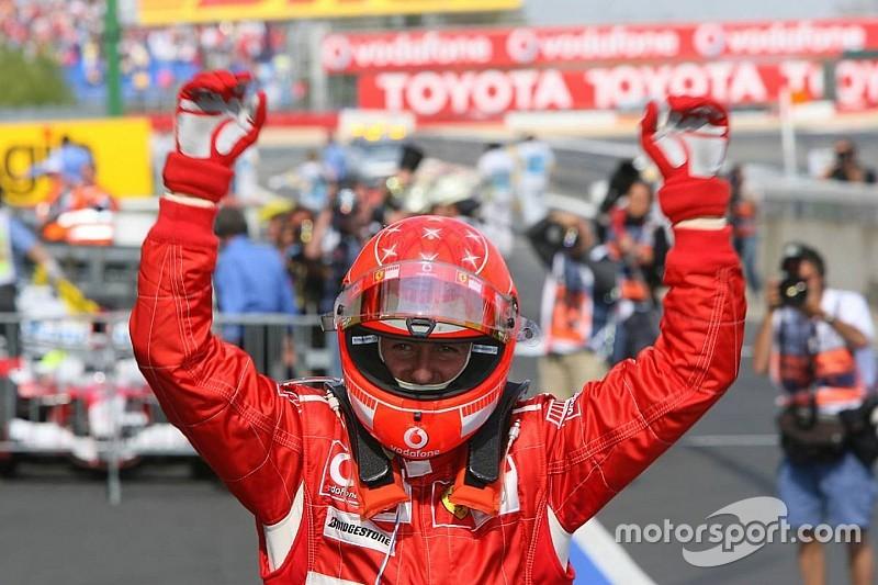 Schumacher'in F1'de kazandığı 91 zafer