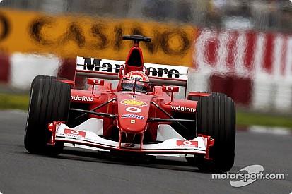 """مقاتلة فيراري """"اف 2002"""": إحدى أعظم السيارات في تاريخ الفورمولا واحد"""