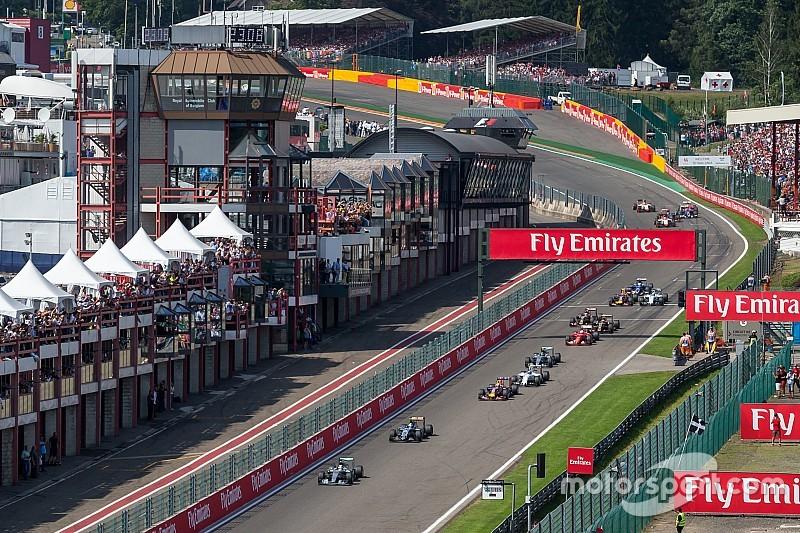 Formel 1 2017 Der Zeitplan Zum Grand Prix Von Belgien In Spa