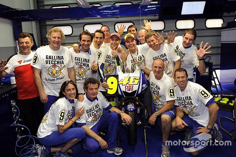 GALERI: Balapan ke-300 Valentino Rossi di MotoGP