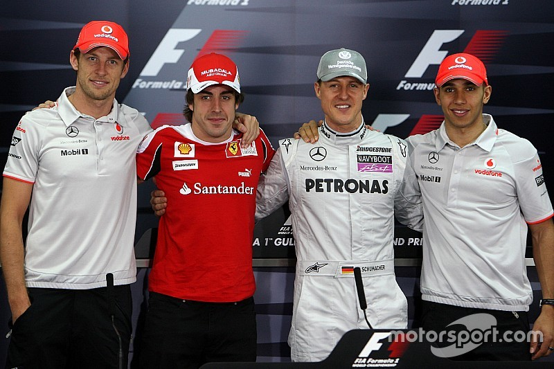 Gallery: Drivers with experience of 200 F1 races