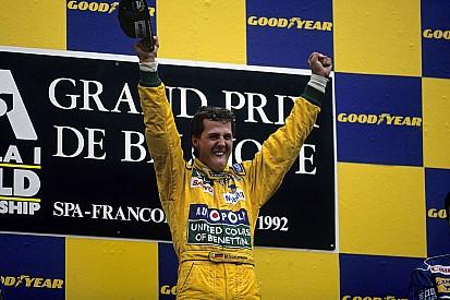 Galería: la primera victoria de Michael Schumacher en F1