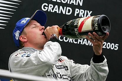 Räikkönen agyonver mindenkit és másodszor is nyer Belgiumban