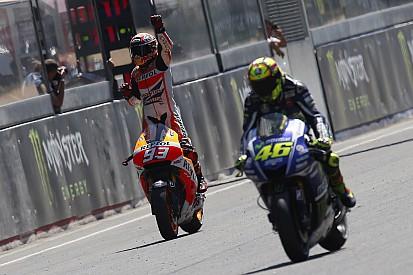 Fotogallery: le 33 vittorie di Rossi e Márquez con Honda