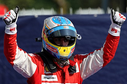 Alonso-mesterhármas első ferraris Olasz Nagydíján