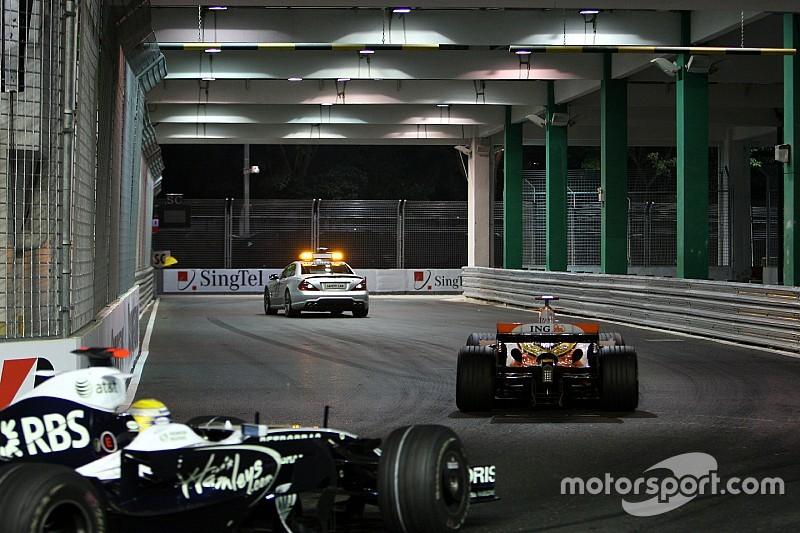 Todos los ganadores y podios del GP de Singapur de F1