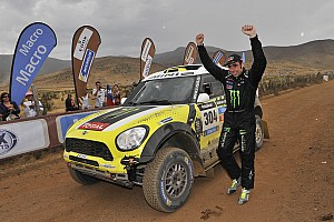 Nani Roma, nuevamente con Mini en el Dakar