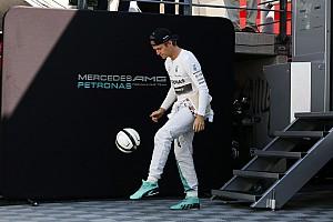 F1 Noticias de última hora Vídeo: Rosberg acepta el reto de Cristiano Ronaldo