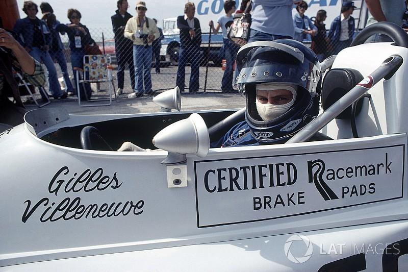 El primer curso de conducción de Gilles Villeneuve