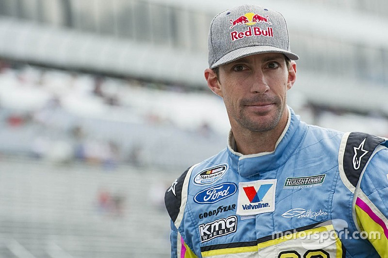 Travis Pastrana returns to NASCAR competition this weekend in Vegas