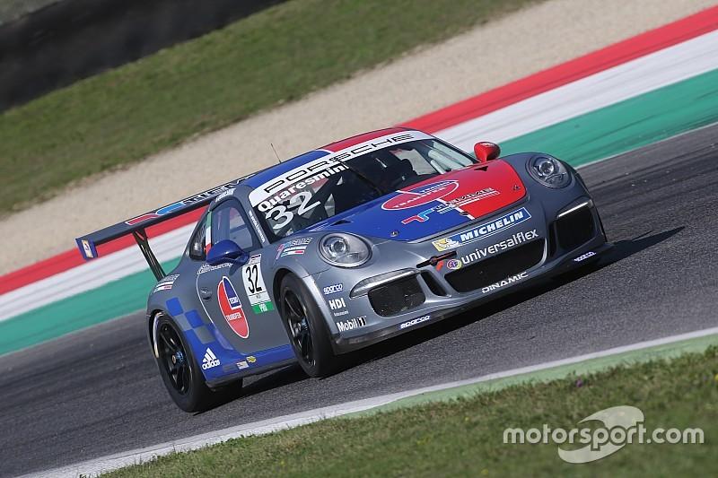 Carrera Cup Italia, la legge di Quaresmini sulla pole di gara 1 al Mugello