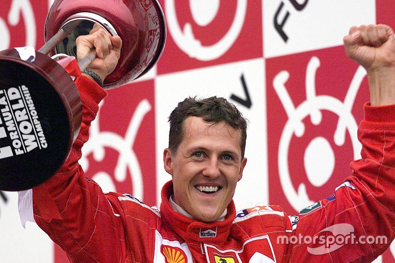 Gallery: 17 years ago, Michael Schumacher took the world championship for Ferrari