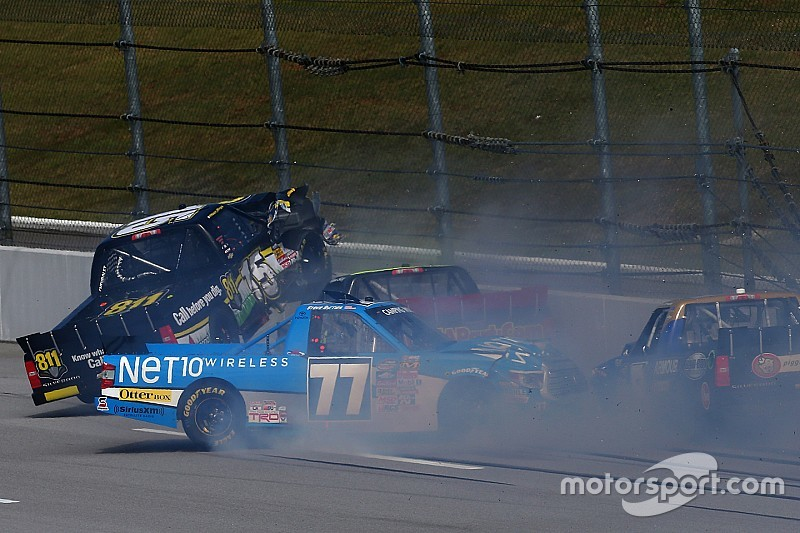 Five things to watch for in Saturday's NASCAR Truck race at Talladega