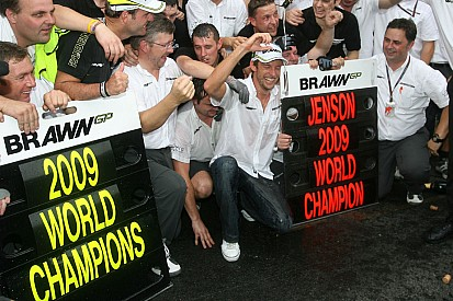 Gallery: Button clinches his maiden F1 title in 2009