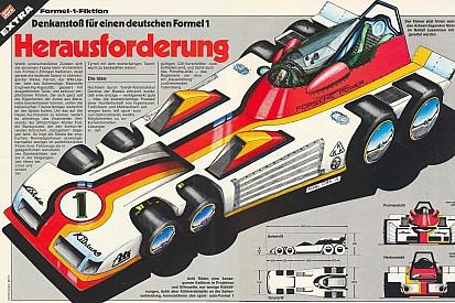 Восемь колес и двигатель Porsche: немецкое видение Ф1 40 лет назад