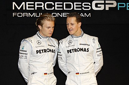 """Rosberg: """"Cuando Schumacher entraba, era como si se apareciera Dios"""""""