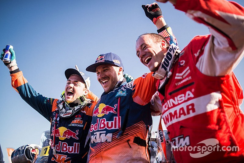 Farrés y Barreda encabezan los inscritos en motos del Dakar 2018