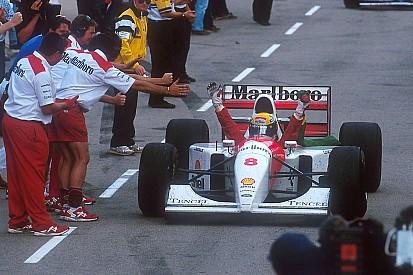Fotoalbum: De laatste F1-overwinning van Ayrton Senna