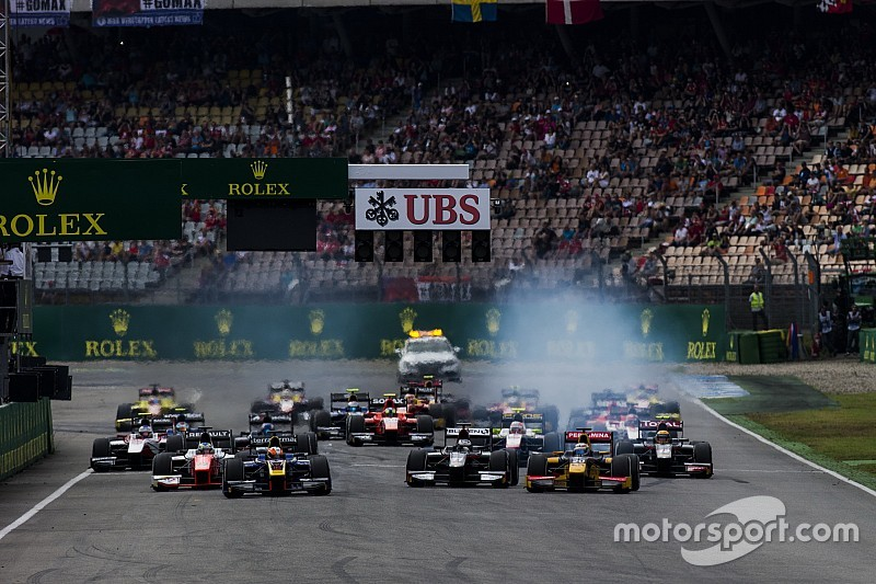 Hockenheim F2 ve GP3 yarışlarını kaçırdığı için şaşkın