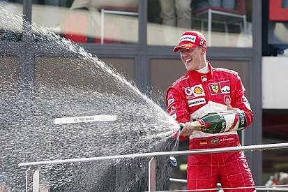 Schumacher élu plus grand pilote de l'Histoire de Ferrari en F1