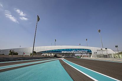 Tribünden Abu Dhabi GP