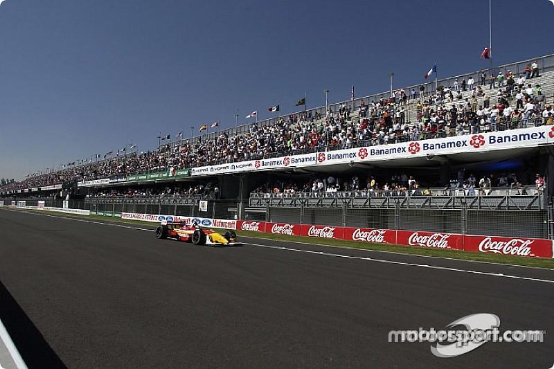 Carrera de IndyCar en México hasta 2019