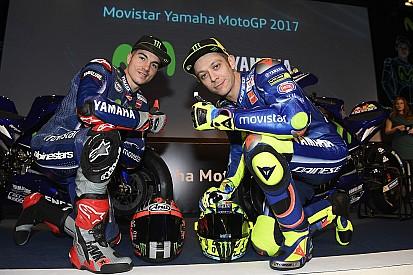 Rossi y Viñales vuelven a Madrid para presentar la M1 de 2018